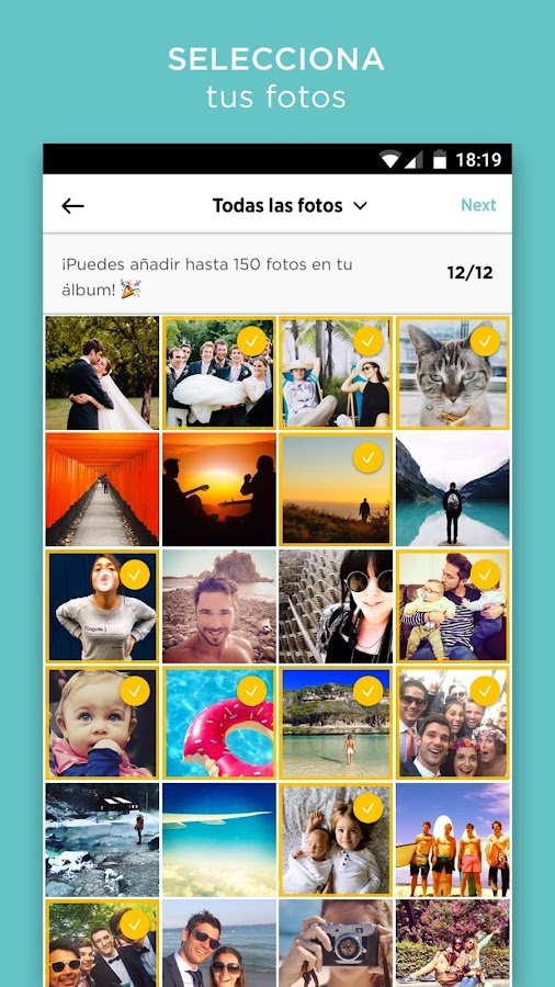 CHEERZ-Imprime fotos del móvil: captura de pantalla