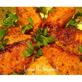 Honey & Mustard Marinated Pork Chops