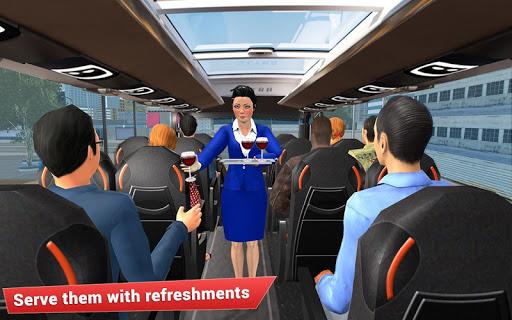 Virtual girl tourist bus waitress jobs : Dream Job 1.5 screenshots 6
