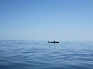 Photo: We saw manta rays and dolphins jumping during this paddle.