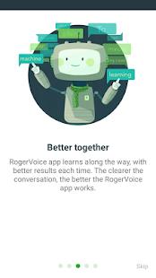 RogerVoice Caption Calls - náhled