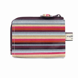 Stripe Slim Pocket Purse