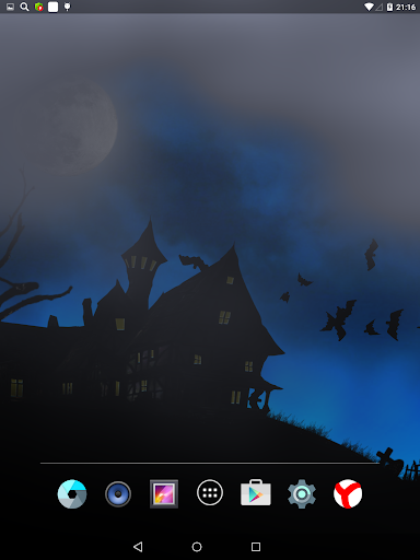 Scary Halloween Live Wallpaper  screenshots 1