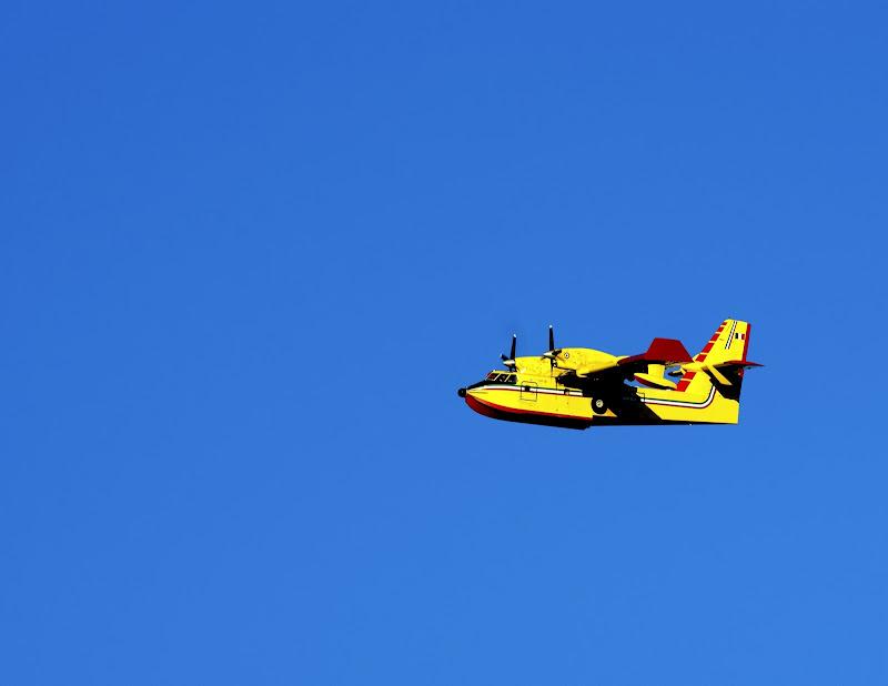aereo giallo di manolina