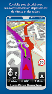 MapFactor GPS Navigation Maps Capture d'écran