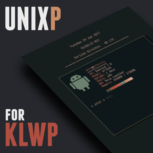 UnixP For KLWP Android APK Download Free By A. Clark