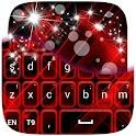 Red Keyboard Glow GO icon