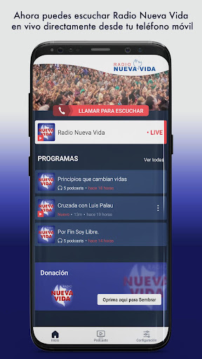 radio nueva vida screenshot 1