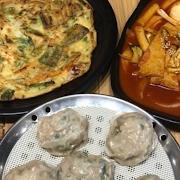 Jin Special Set B (Dumpling+Seafood Pancake+Ddukbokki)