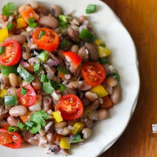 Mixed Beans Salad.
