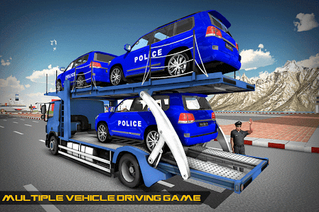 Cruiser Police Transport Game- screenshot thumbnail