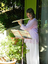 Photo: Evelyn playing for our 2nd anniversary open house