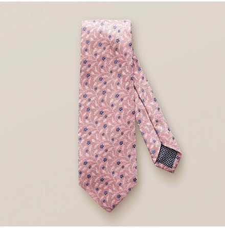 ETON Jazz pink flower tie