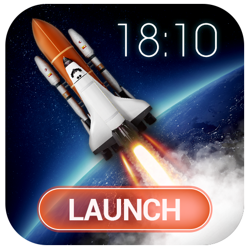 Rocket lock screen