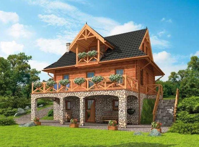 Dom z bali - wyjątkowe, cenione rozwiązanie