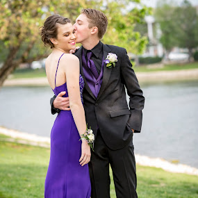 Young Love by Christa Ehrstein - People Couples ( dress, prom, tux )
