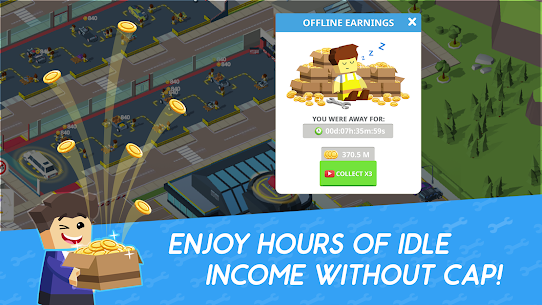 Idle Mechanics Manager Mod Apk (Unlimited Money) 5