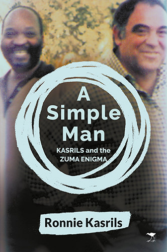 The cover of 'A Simple Man - Kasrils and the Zuma Enigma'