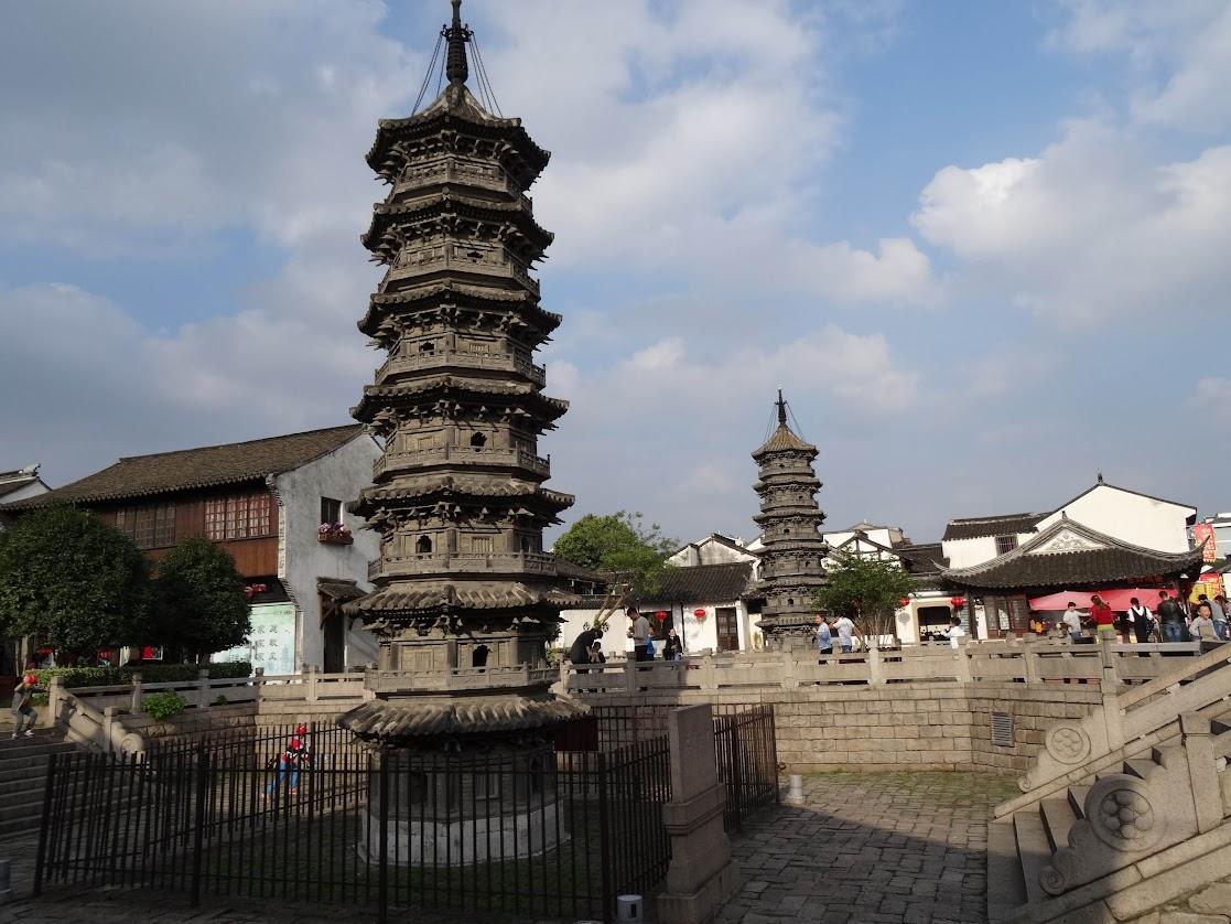 Pagodes à Nanxiang