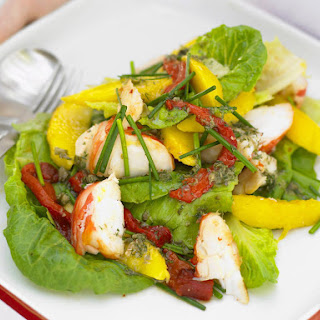 Lobster and Mango Salad.