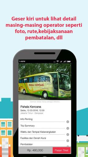Bosbis Bus Ticketing Indonesia screenshot