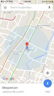 GPS status - náhled