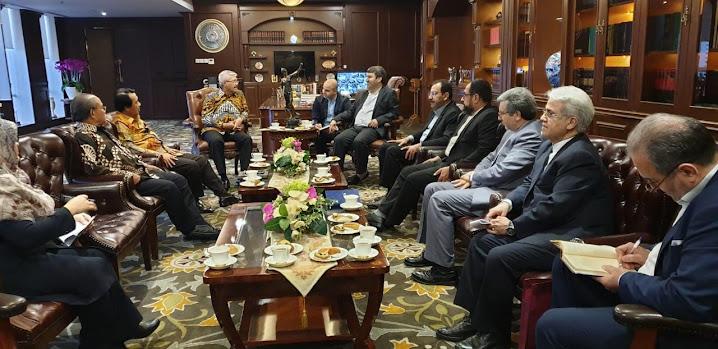 KMA RI Menerima Kunjungan Komisi Yudisial dan Hukum Republik Islam Iran