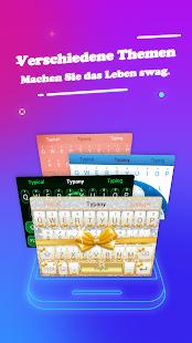 Typany Keyboard - Free & Fast Screenshot