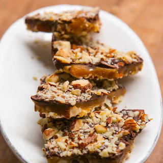 Chocolate-Almond Buttercrunch Toffee.