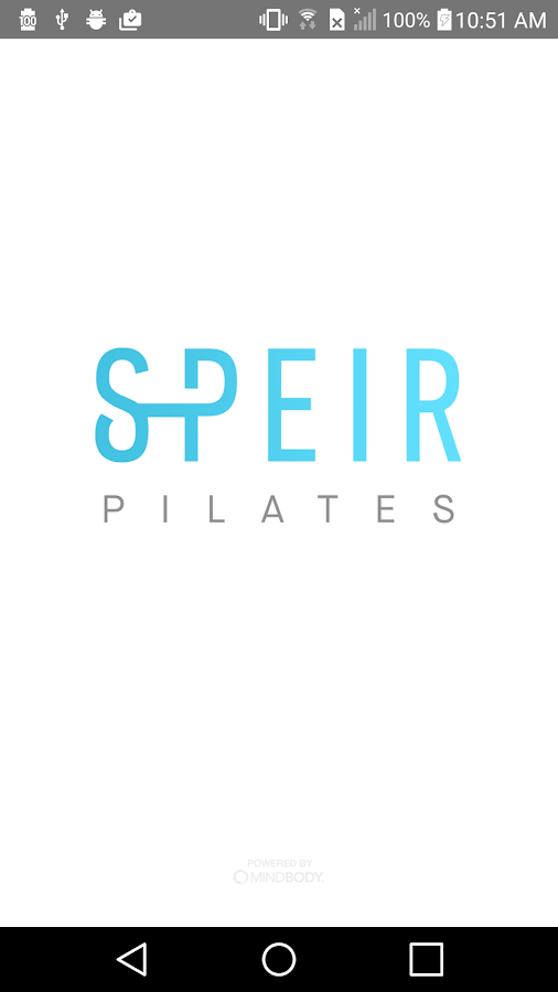 Speir Pilates- screenshot