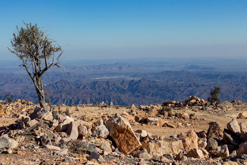 Jabal Akhdar, widok z Sayq Plateau