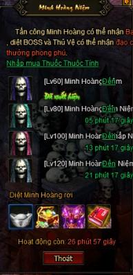 MINH HOÀNG NIỆM | Webgame Khoa Huyễn Cửu Tinh Vô Song | 360game.vn
