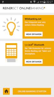 REINER SCT ONLINEBANKING - náhled