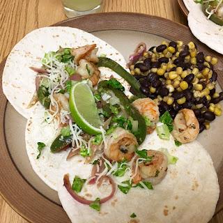 Mojito Shrimp Tacos
