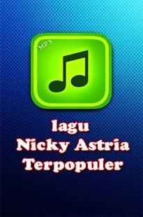 lagu Nicky Astria Terpopuler - náhled