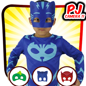Pj masks face photo editor