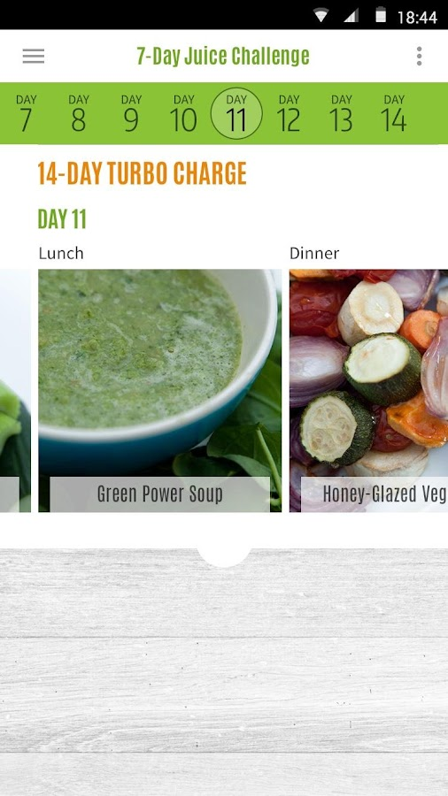 Jason's 7-Day Juice Challenge- screenshot