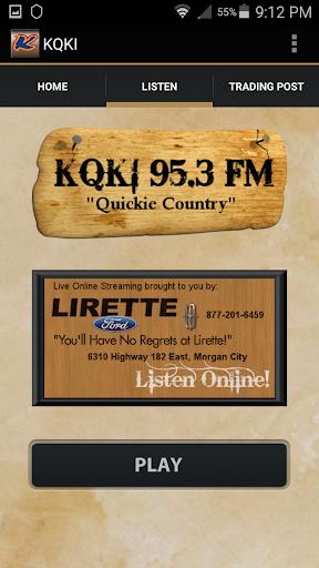 KQKI 95.3 FM Mobile App