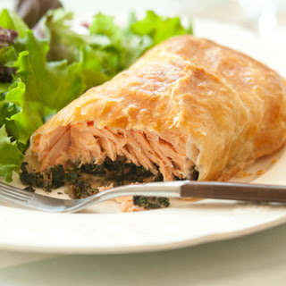 Salmon Wellington Puff Pastry Recipes.