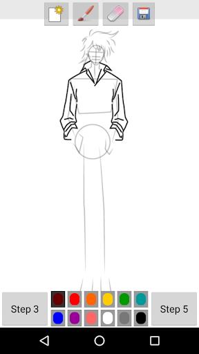 玩免費遊戲APP|下載How to Draw Anime Boys app不用錢|硬是要APP