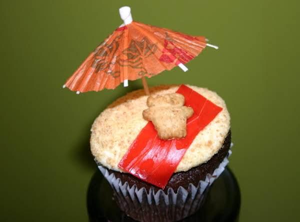 Teddy Bear Beach Party Cupcake Recipe