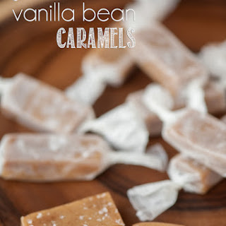 Salted Vanilla Bean Caramels