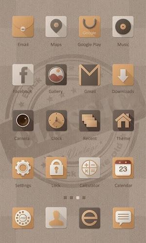 1 Classic Theme - ZERO Launcher App screenshot