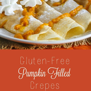 Pumpkin Filled Crepes