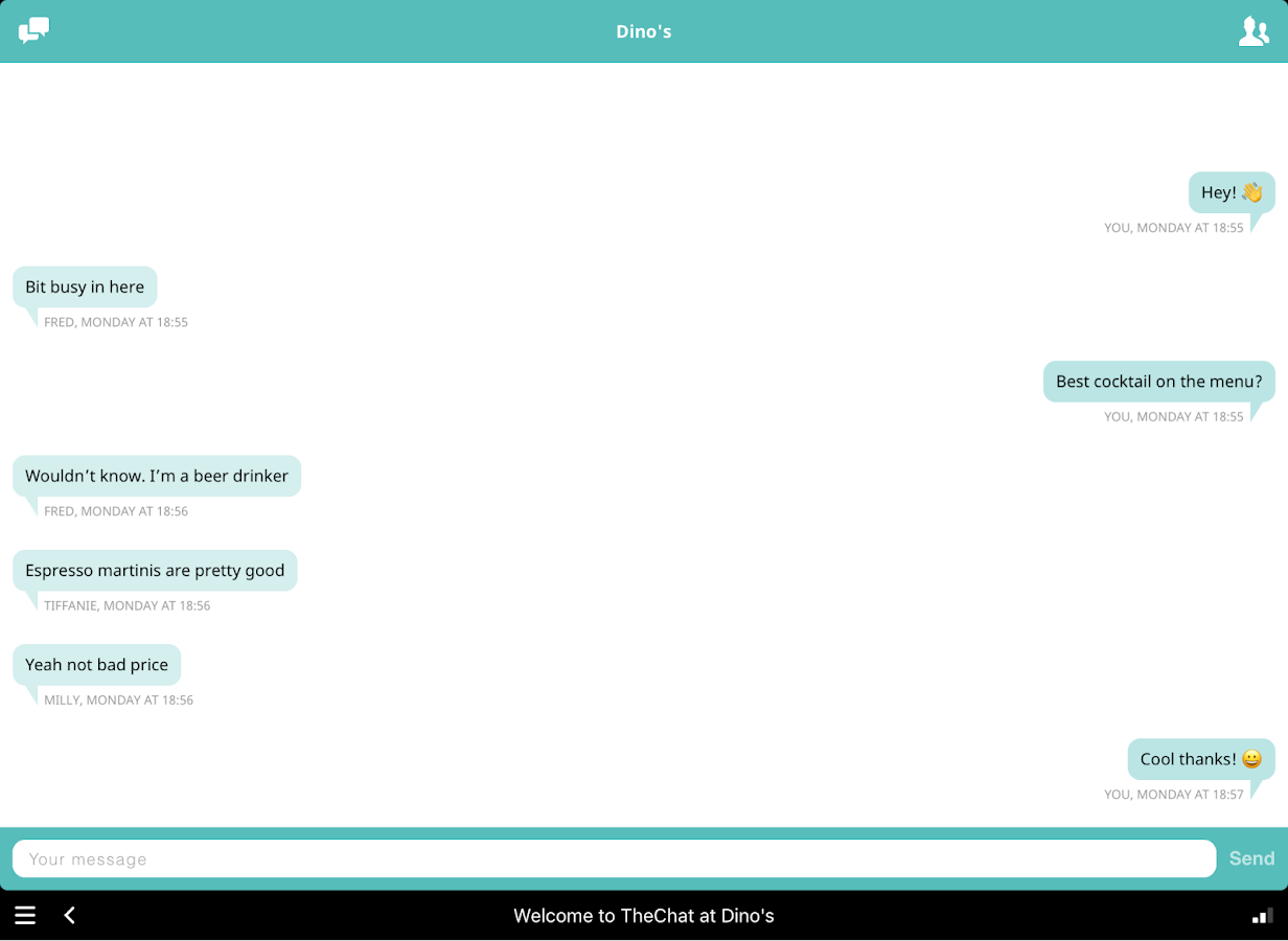 TheChat- screenshot