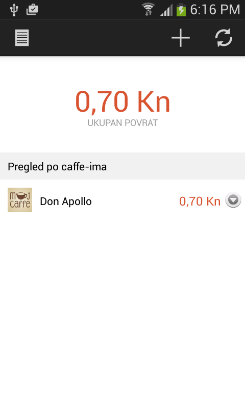 Moj Caffe- screenshot