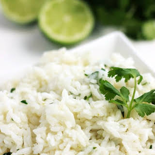 Cilantro Lime Rice.