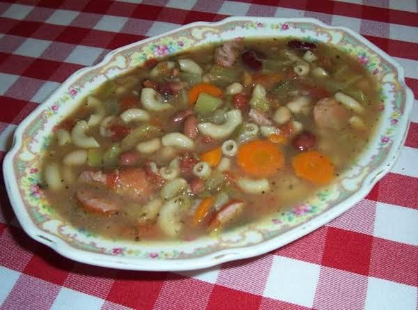 Kielbasa Sausage 17 Bean Soup