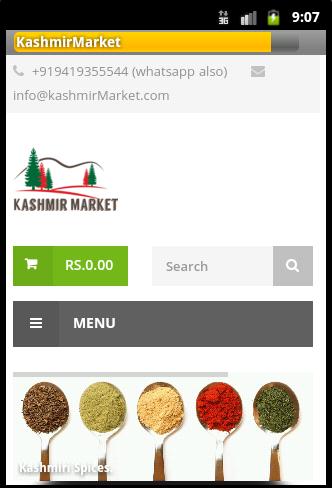 Kashmir Market