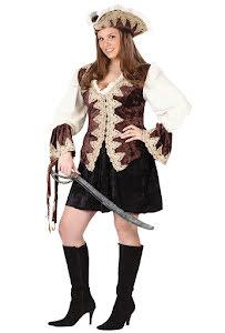 Piratklänning, sammet